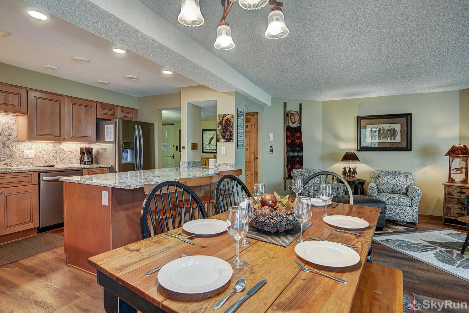 Powderhorn C302 Enjoy tasty home cooked meals with friends and family