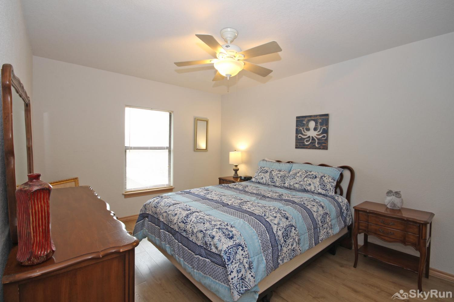 JACKS RIVER HAUS Third Bedroom with Queen