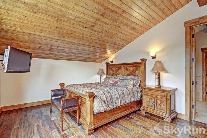 LR902  The Chalet at Lewis Ranch Upstairs Master Bedroom