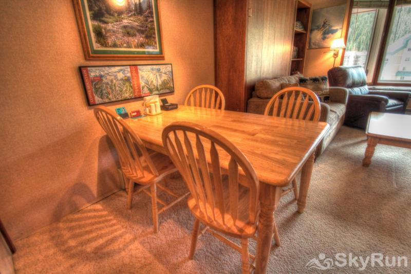 TL505 Telemark Lodge 1BR 2BA Dining Room