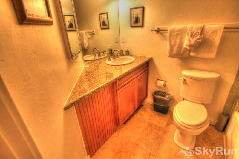TL505 Telemark Lodge 1BR 2BA Main Level Bathroom