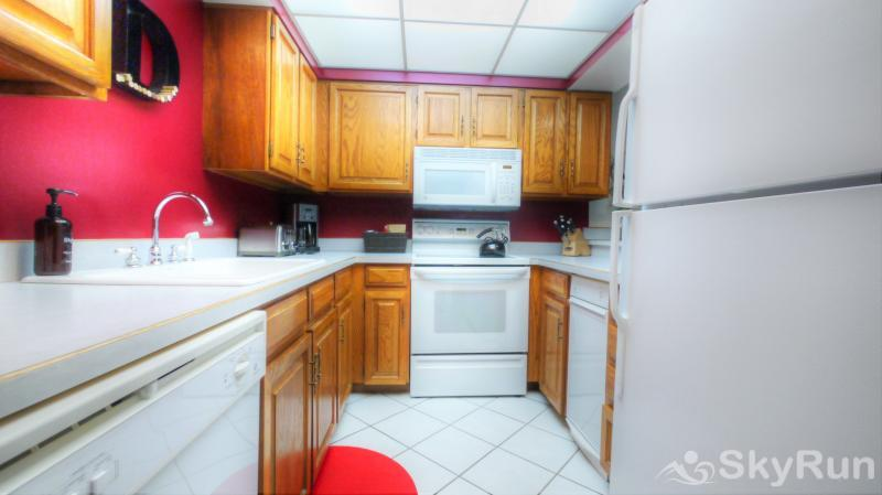 BE308 1BR Bridge End Fully Equipped Kitchen