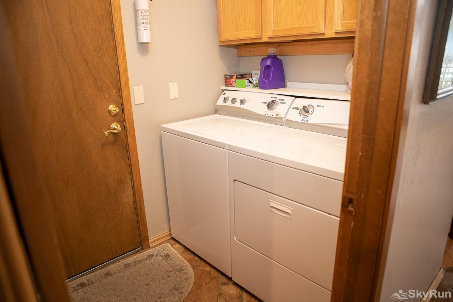 16 Chambertin Townhomes Washer/dryer
