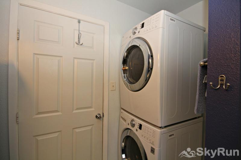 WINDHAVEN CABIN Washer & Dryer Available for Guest Use