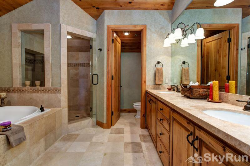 Lucky Star at Belle Arbor Master Bath Lucky Star
