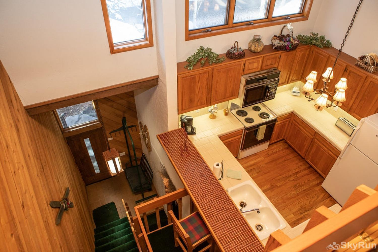 187 Ridgepoint Kitchen Aerial