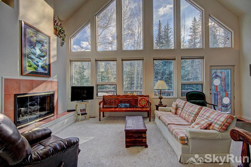 Aspen House Living Room
