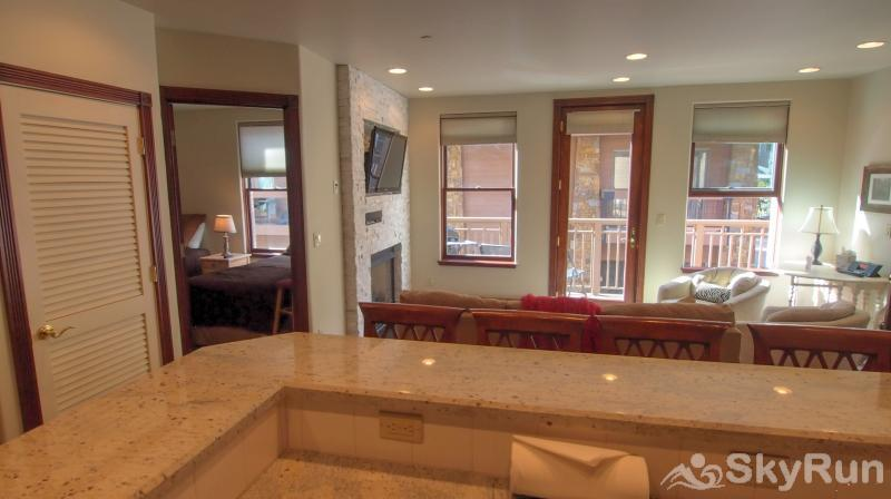 Ballard House 207A 2BR Living Room from Kitchen