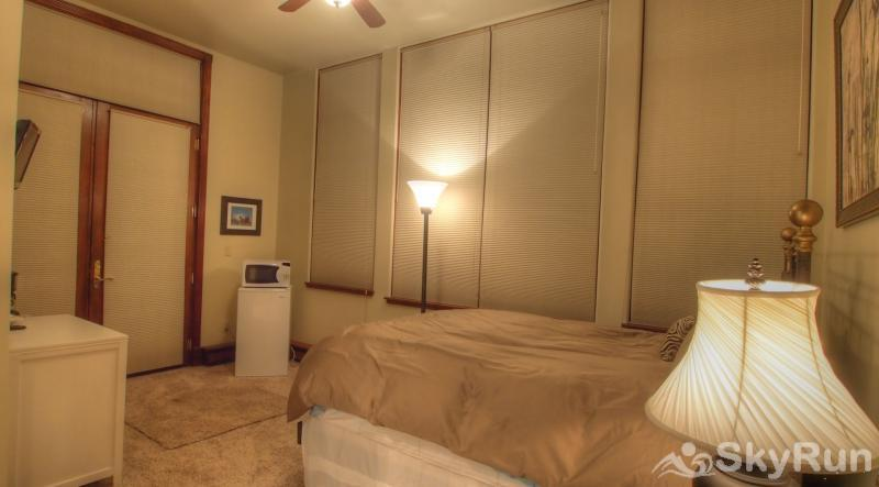 Ballard House 207B Hotel Room (no kitchen) this corner unit has lots of windows and light.